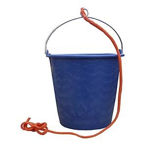 Cubo de plastico de 10 litros para embarcaciones